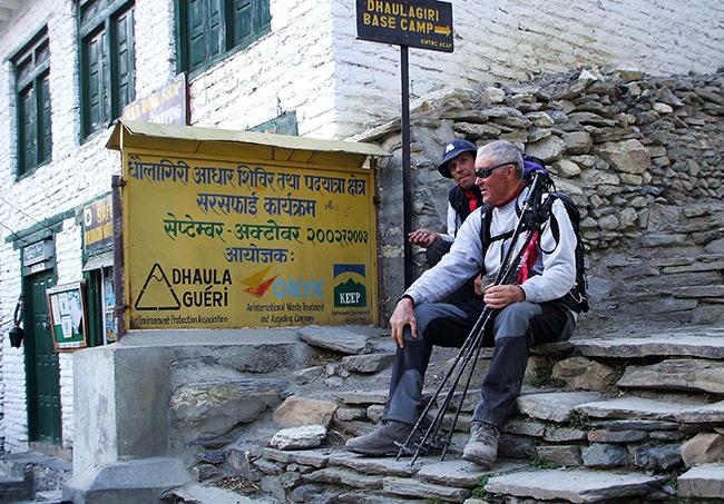 Souvenir de l'expédition Dhaula Guéri